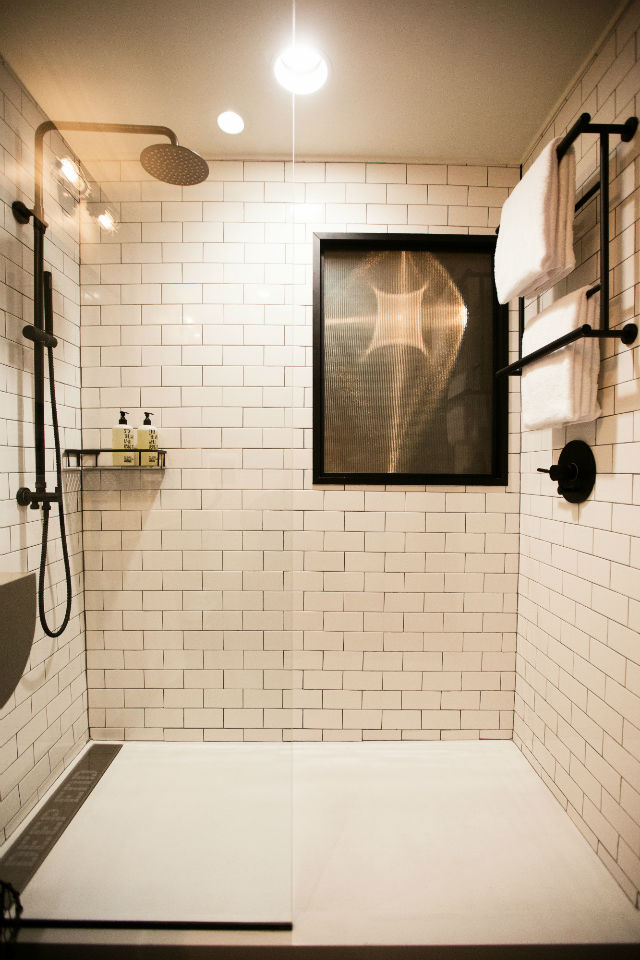 Tiny home bathroom design - Shipping Containers On Display With New Marriott Hotels