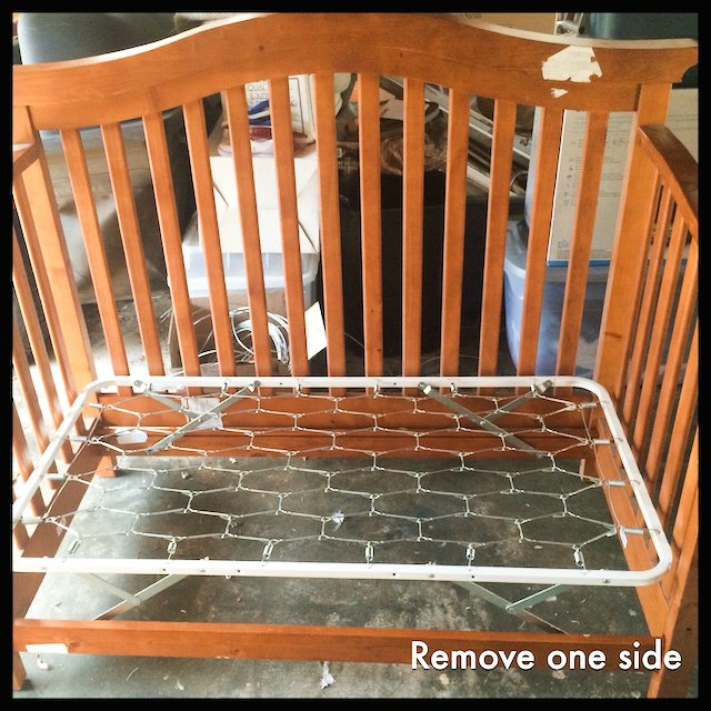 Diy Porch Swing From A Crib Easy Upcycling