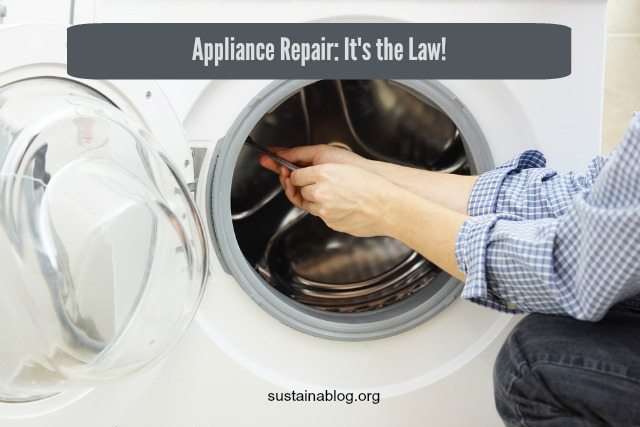 appliance repair required by law in france