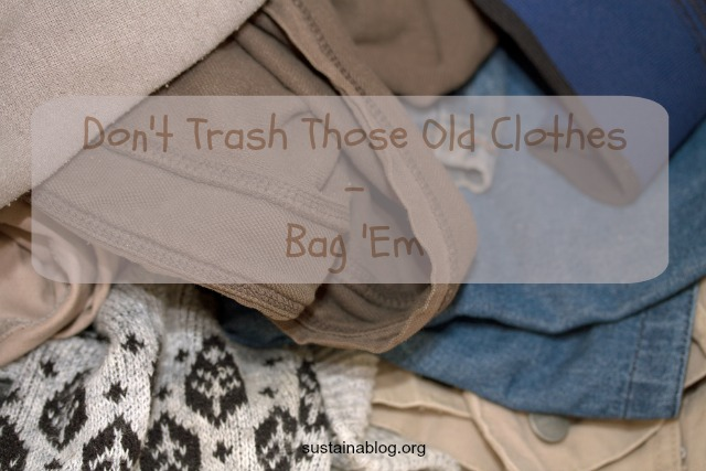 clothes recycling gets easier with the rag bag