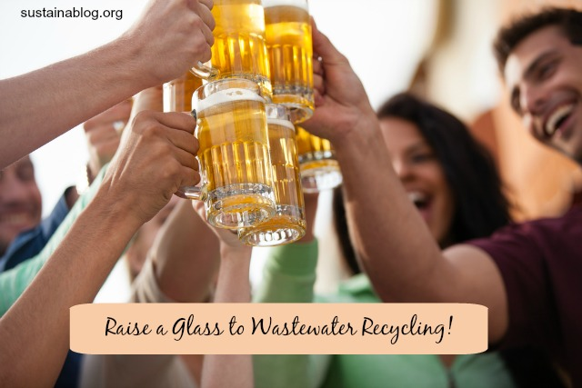 wastewater to beer