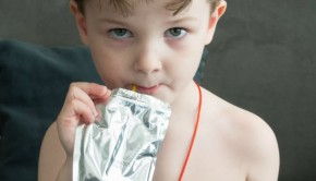 what will you do with that juice pouch when you're finished?