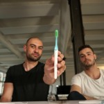 tio toothbrush designers fabian and ben