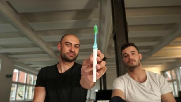 tio toothbrush designers fabian and ben