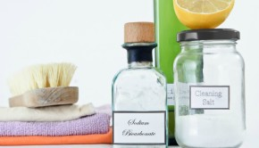 reduce waste with homemade cleaning products