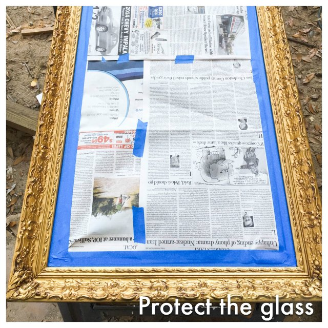 protect the glass