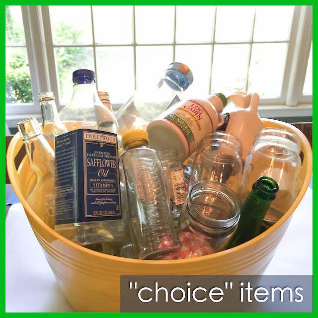choice items