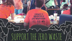 Post Landfill Action Network creates dorm decor from waste