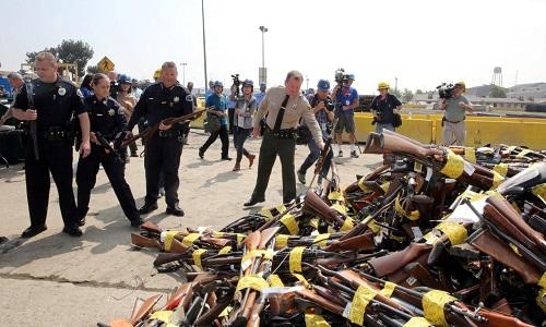 guns for recycling into rebar