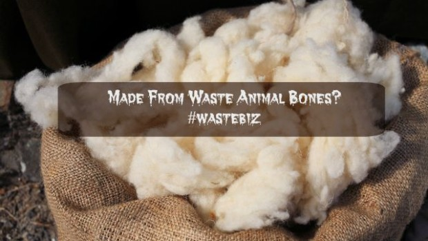 artificial wool made from slaughterhouse waste