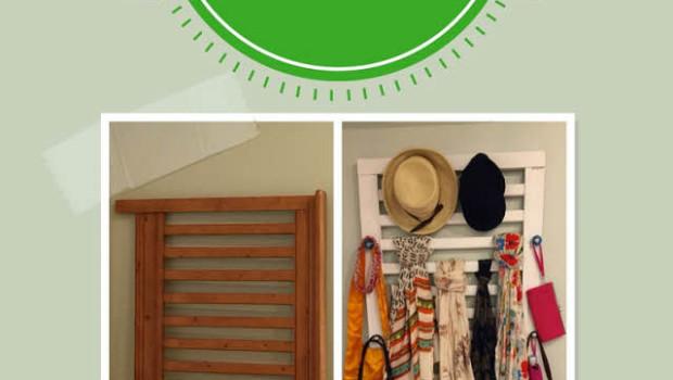 crib into accessories rack