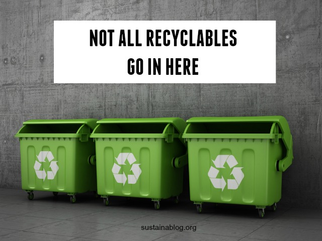 dumpsters for recyclable wastes