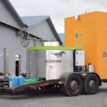 horse food waste to energy plant