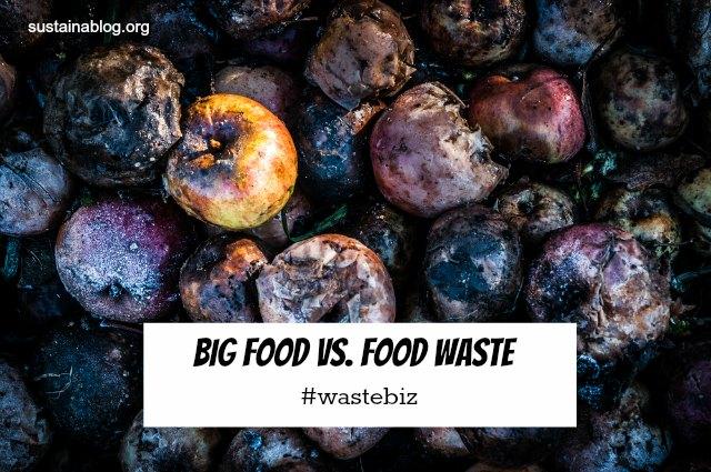 big food vs food waste