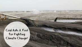 using industrial waste like coal ash to fight climate change