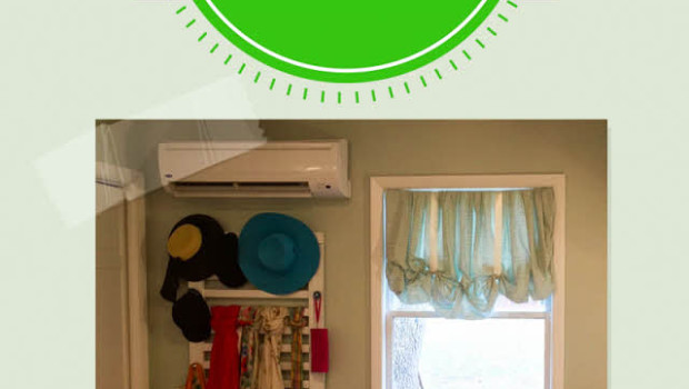 turn a fitted sheet into a window decoration