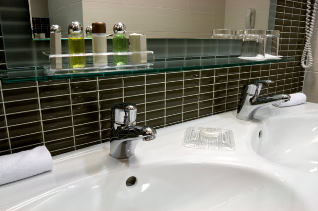 hotel bathroom sink
