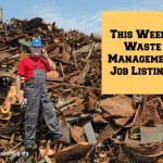 this week's waste management job listings