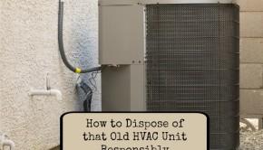 old hvac unit