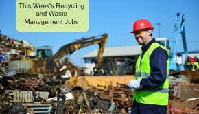 recycling and waste management jobs