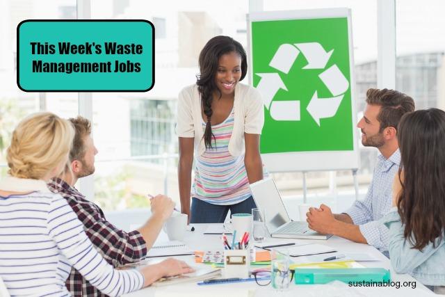 waste management jobs 1-10-16