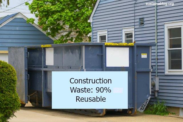 construction waste dumpster