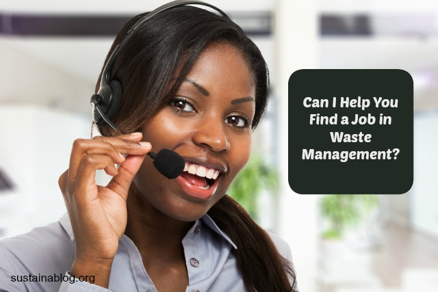 customer service representative for waste management jobs