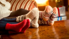 warm toasty feet