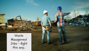 waste management jobs landfill