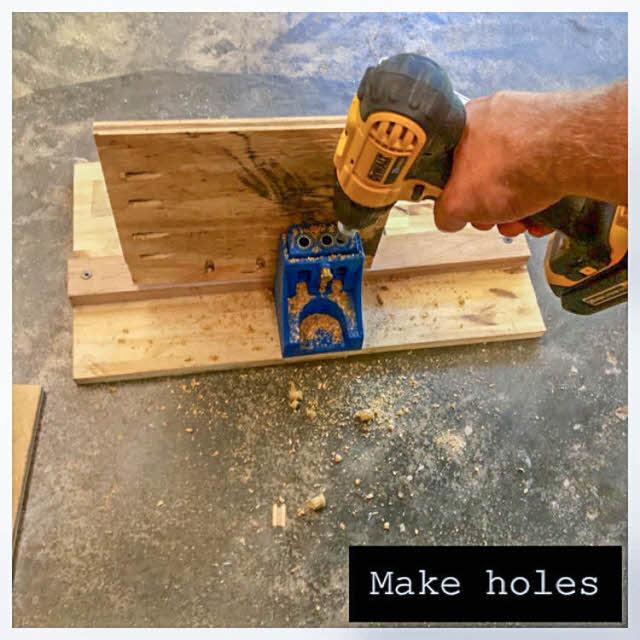 make holes