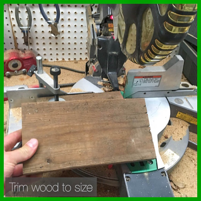 trim wood to size