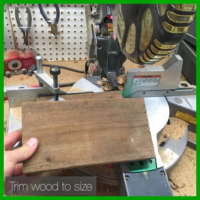trim wood to size