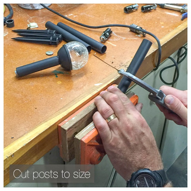 cut posts to size