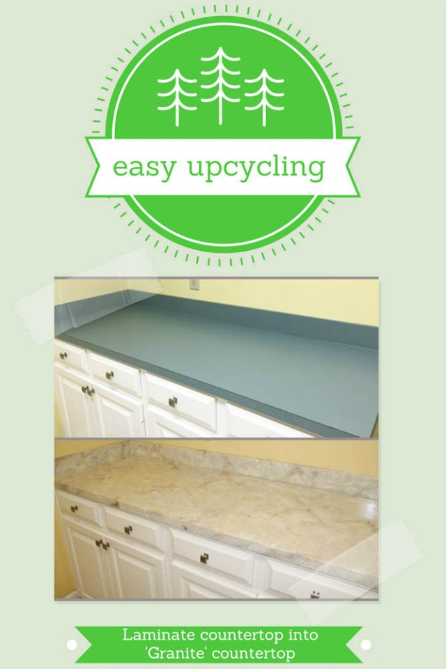 upcycled countertops