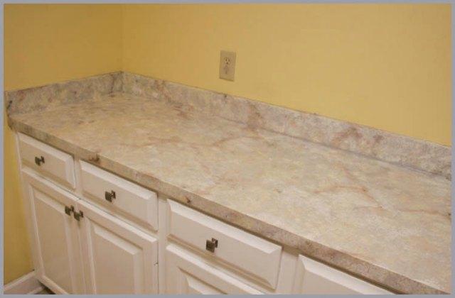 granite look countertop